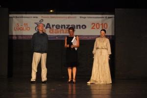 2010 - carla Fracci + Bebbe Menegatti